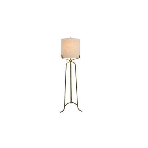 Evie Ashwell Gold One-Light Floor Lamp