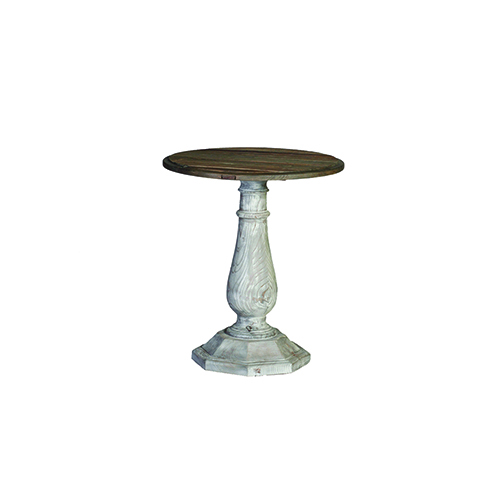 Hayden Untouched Elm and Mist Accent Table