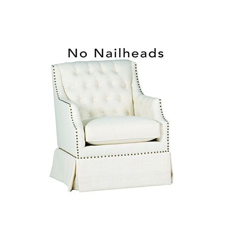 Graham Cream Swivel Rocker