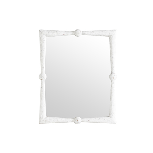 40 inch mirror brass gabby home scarlett antique white 40inch mirror 40 inch sch 152215 bellacor