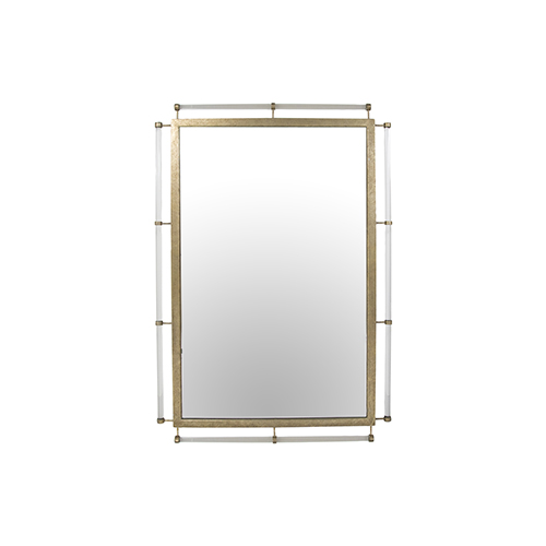 Diana Aged Pine 31-Inch Mirror