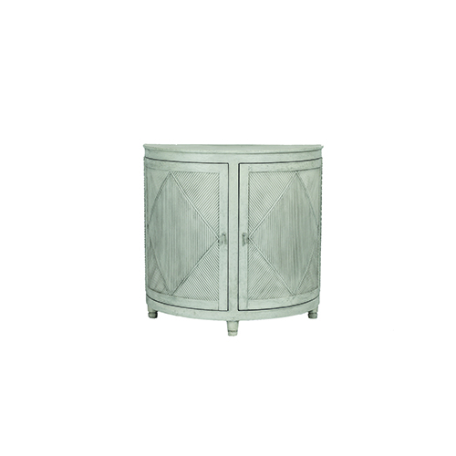 Gabby Home Chelsea Distressed White 36-Inch Cabinet