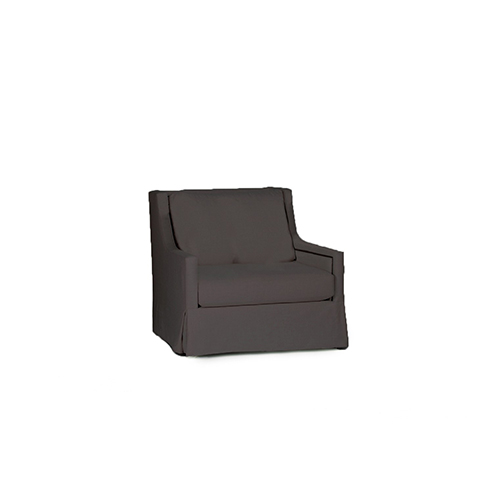 Helena Savvy Caviar Swivel Chair