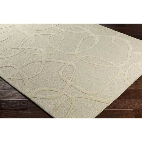 Amarion Khaki and Butter Rectangular: 8 Ft. x 10 Ft. Rug