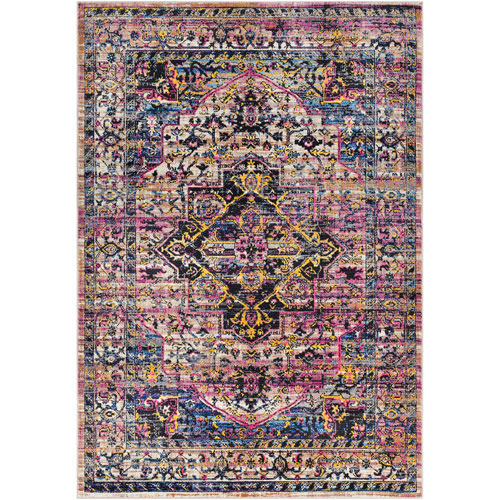 Surya Alchemy Pink Rectangle: 9 Ft. 3 In. x 12 Ft. 1 In. Rug