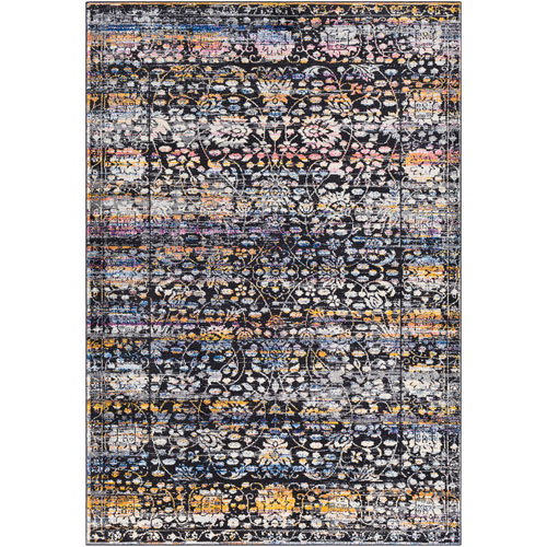 Surya Alchemy Black Rectangle: 2 Ft. x 3 Ft. Rug