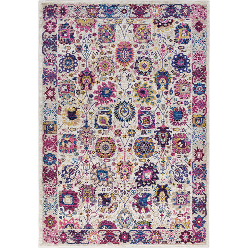 Surya Alchemy Multicolor Rectangle: 2 Ft. x 3 Ft. Rug