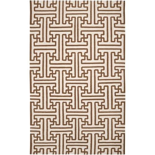Surya Archive Golden Brown Rectangular: 5 ft. x 8 ft. Rug