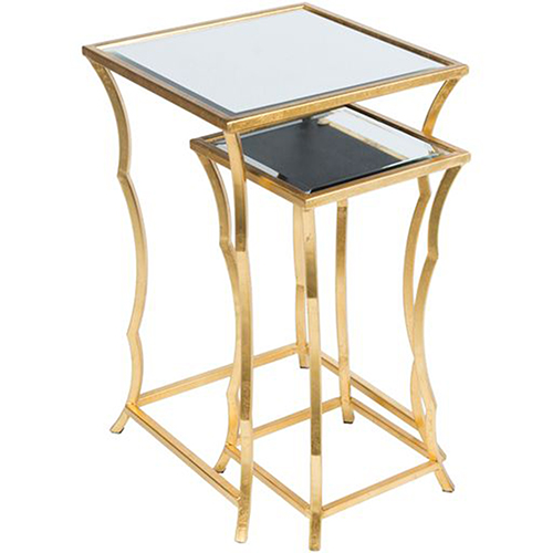 Ardley Gold Nesting Table, Set of 2