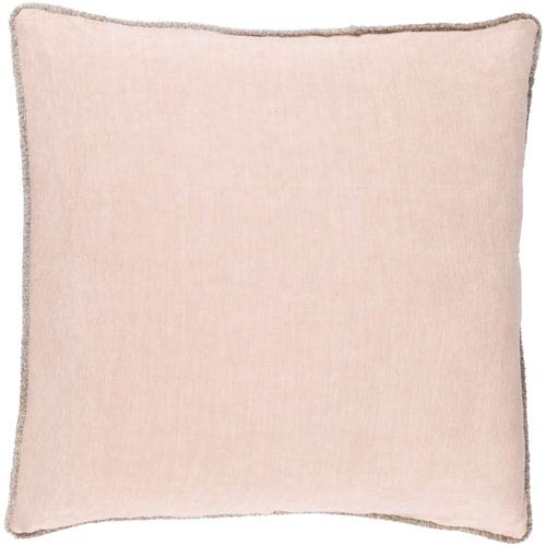 Sasha Pink 18-Inch Pillow Cover