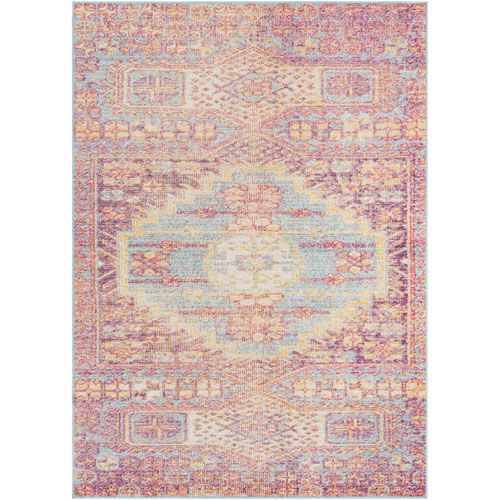 Surya Antioch Red Rectangle: 2 Ft. x 3 Ft. Rug