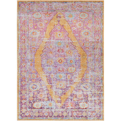 Surya Antioch Pink Rectangle: 2 Ft. x 3 Ft. Rug