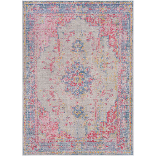 Surya Antioch Pink Runner: 3 Ft. 3 In.  x 8 Ft. 2 In.  Rug