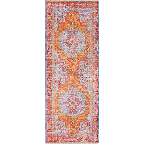 Surya Antioch Yellow Runner: 3 Ft. x 7 Ft. 10 In. Rug