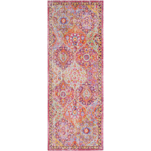 Surya Antioch Pink Runner: 3 Ft. x 7 Ft. 10 In. Rug