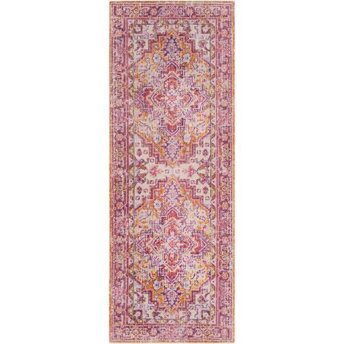 Surya Antioch Pink Runner: 3 Ft. x 7 Ft. 10 In. Rug