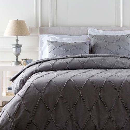 Aiken Gray Full/Queen Duvet