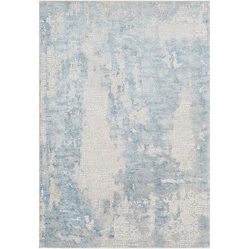 Aisha Sky Blue Rectangular: 7 Ft. 10 In. x 10 Ft. 3 In. Rug