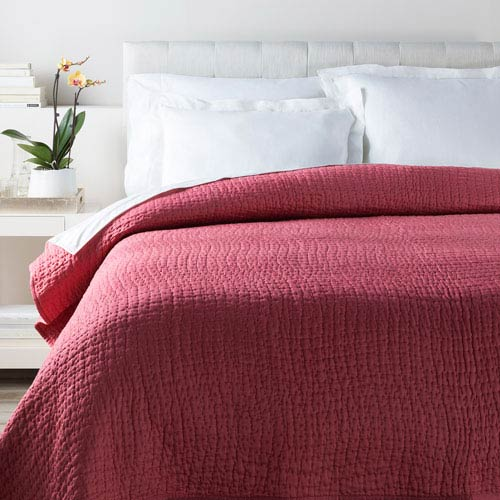 Surya Albany Red Full/Queen Quilt