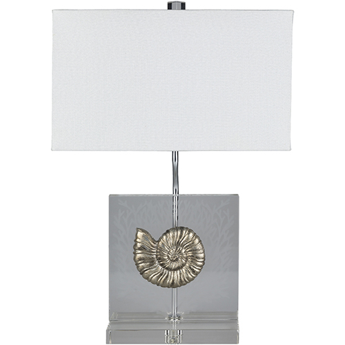 Allyson Pewter One-Light Table Lamp