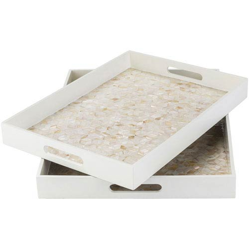 Alessandra Butter and Beige Tray