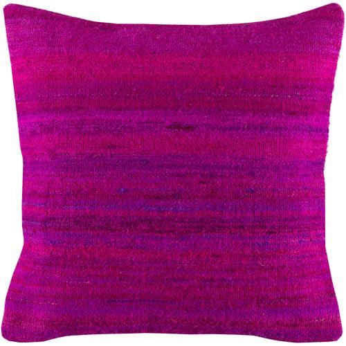 Palu Bright Purple 18 x 18-Inch Pillow Cover