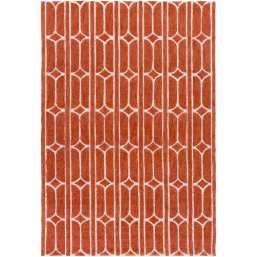 Surya Alexandra Orange Rectangular: 2 Ft. x 3 Ft. Rug