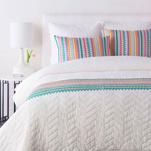 Annabelle Multicolor Twin Quilt