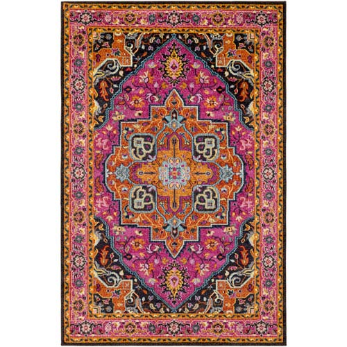 Anika Pink Rectangular: 2 Ft. x 3 Ft. Rug