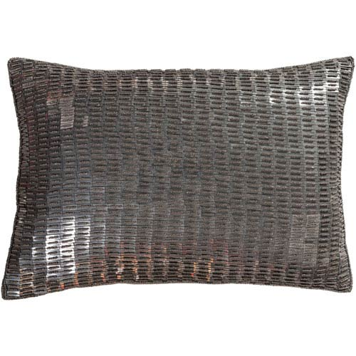 Surya Ankara Camel and Medium Gray 13 x 19 In. Throw Pillow