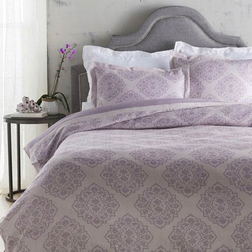 Surya Anniston Plum Twin Bed Skirt