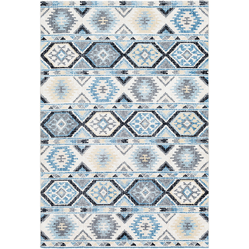 Apricity Blue Rectangular: 7 Ft. 6 In. x 9 Ft. 6 In. Rug