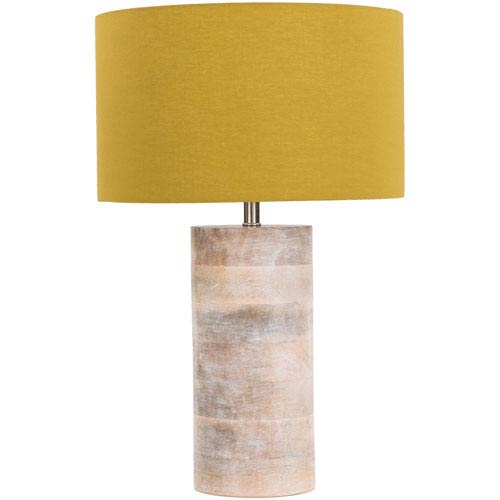 Arbor Yellow Table Lamp