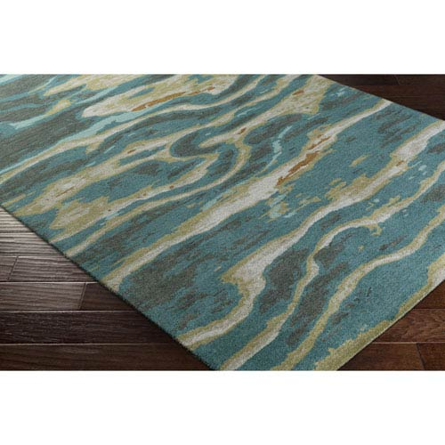 Surya Artist Studio Multicolor Rectangular: 2 Ft. x 3 Ft Rug