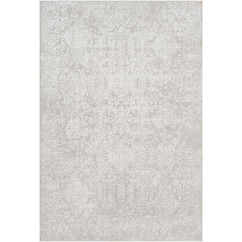 Aisha Light Grey Rectangular: 5 Ft. 3 In. x 7 Ft. 3 In. Rug