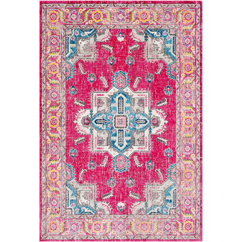 Surya Aura silk Pink Rectangle: 2 Ft. x 3 Ft. Rug