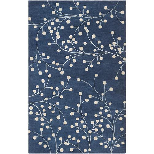 Athena Blue Rectangular: 6 Ft. x 9 Ft. Rug