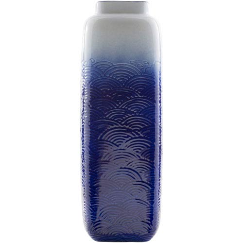 Azul Large Navy Table Vase