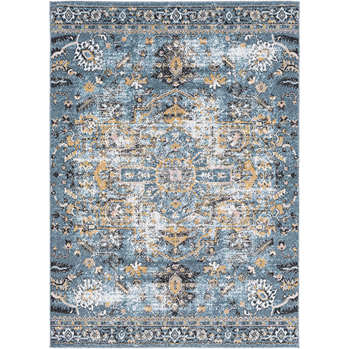 Azul Aqua Rectangular: 2 Ft. x 3 Ft. Rug