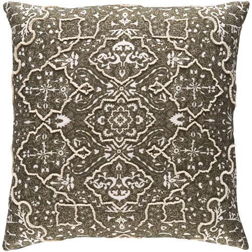 Surya Batik Multicolor 20 x 20 In. Throw Pillow