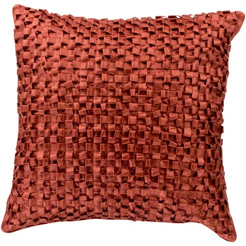 Red Clay Loop 22 x 22 Pillow