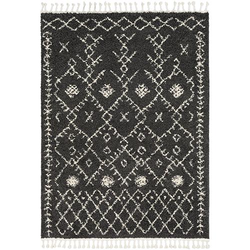Berber Shag Charcoal Rug