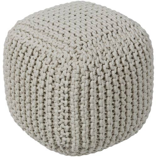 Braga Cream Pouf