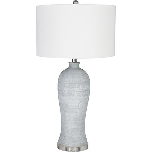 Blaine Light Grey One-Light Table Lamp
