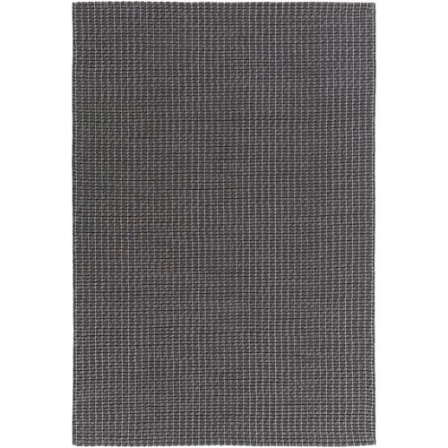Baltic Charcoal and Ivory Rectangular: 2 Ft x 3 Ft Rug