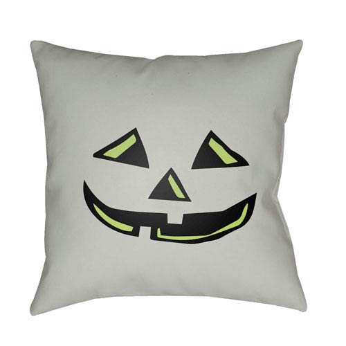 Mint Boo 18-Inch Throw Pillow with Poly Fill