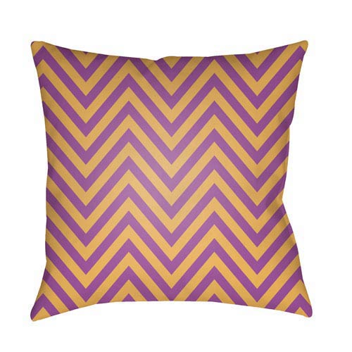 Purple Boo 20-Inch Throw Pillow with Poly Fill