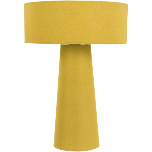 Bradley Yellow Table Lamp