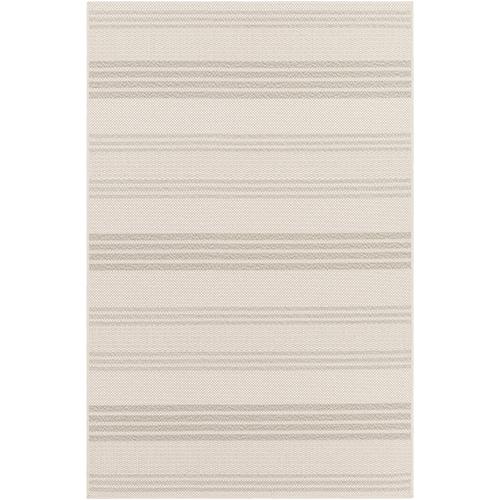 Breeze Ivory Indoor/Outdoor Rectangular: 7 Ft. 10 In. x 10 Ft. 3 In. Rug