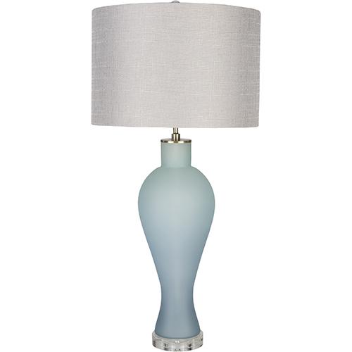 Buckley Sky Blue One-Light Table Lamp